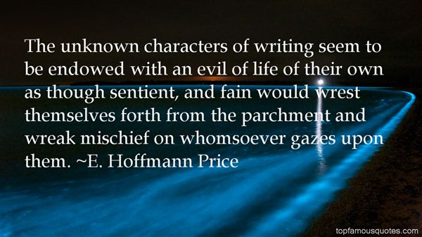 E. Hoffmann Price Quotes
