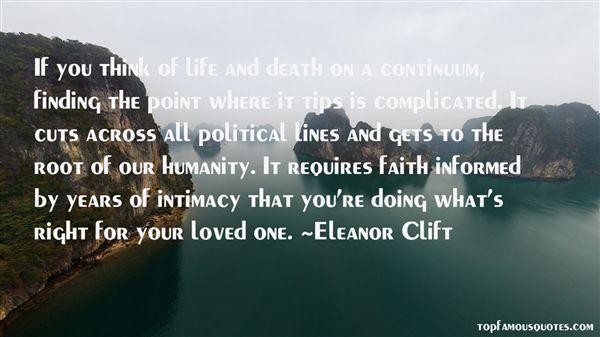 Eleanor Clift Quotes