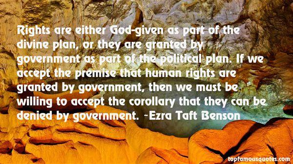 Ezra Taft Benson Quotes