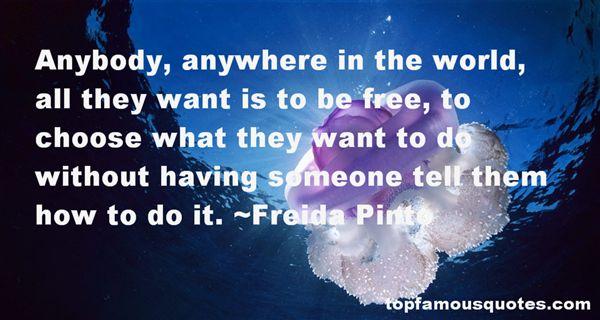 Freida Pinto Quotes