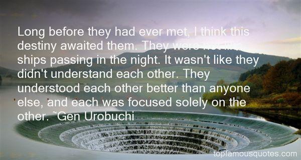 Gen Urobuchi Quotes
