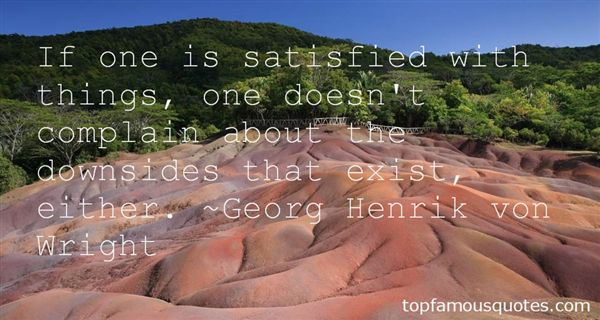 Georg Henrik Von Wright Quotes