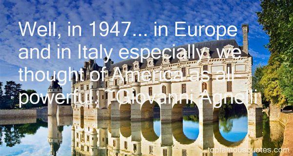 Giovanni Agnelli Quotes