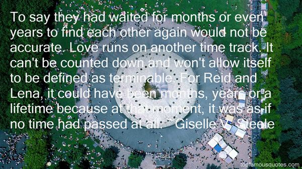 Giselle V. Steele Quotes