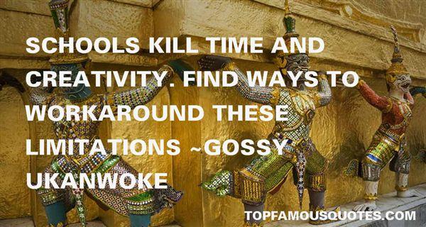 Gossy Ukanwoke Quotes