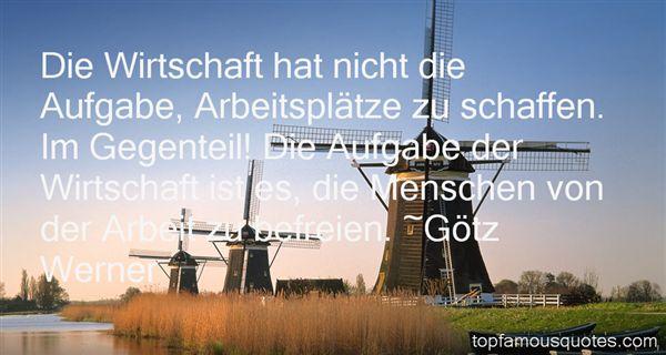 Götz Werner Quotes