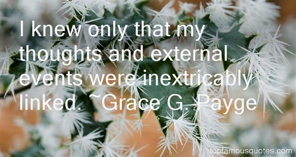 Grace G. Payge Quotes