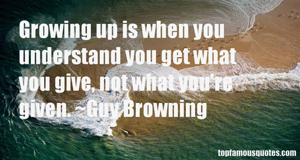 Guy Browning Quotes