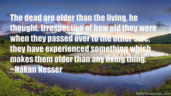 Håkan Nesser Quotes