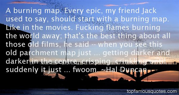 Hal Duncan Quotes