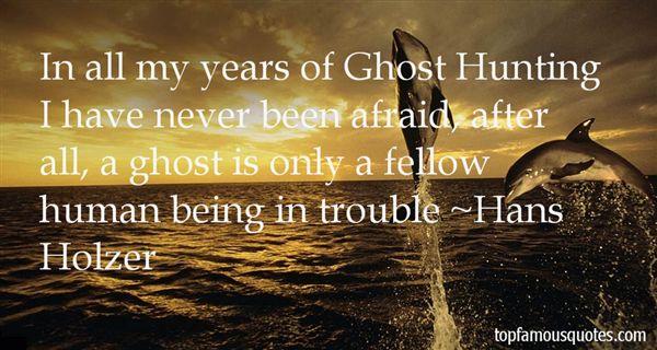 Hans Holzer Quotes