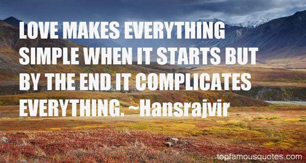 Hansrajvir Quotes