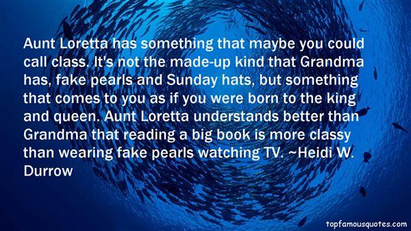 Heidi W. Durrow Quotes