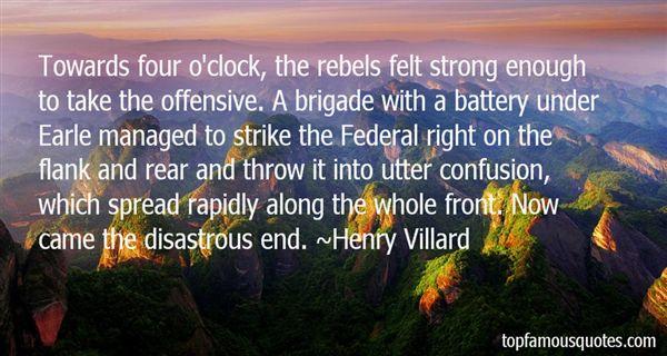 Henry Villard Quotes