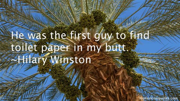 Hilary Winston Quotes