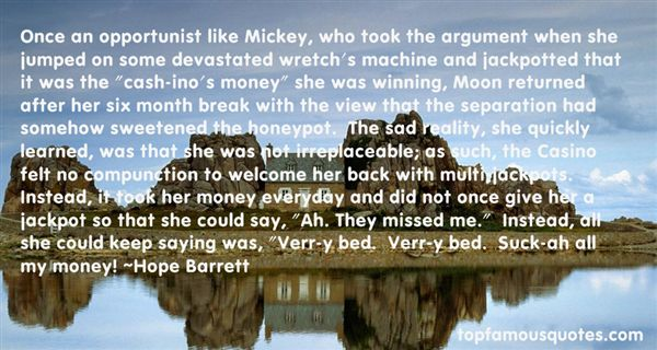 Hope Barrett Quotes