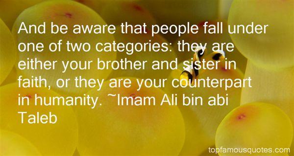 Imam Ali Bin Abi Taleb Quotes