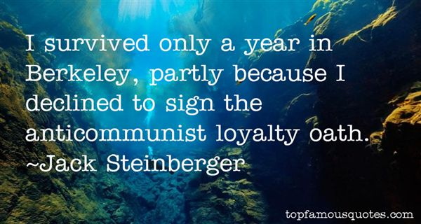 Jack Steinberger Quotes