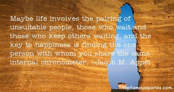 Jacob M. Appel Quotes