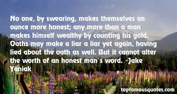 Jake Yaniak Quotes