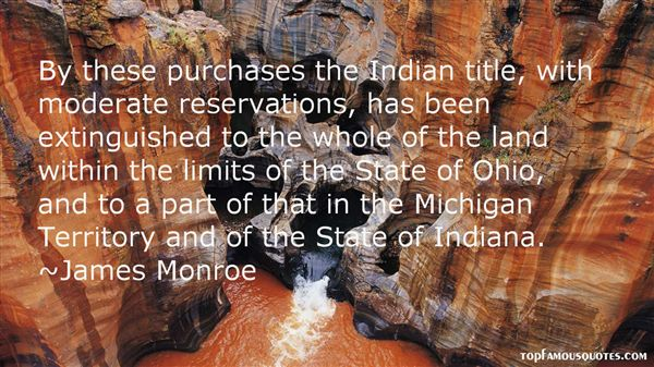 James Monroe Quotes