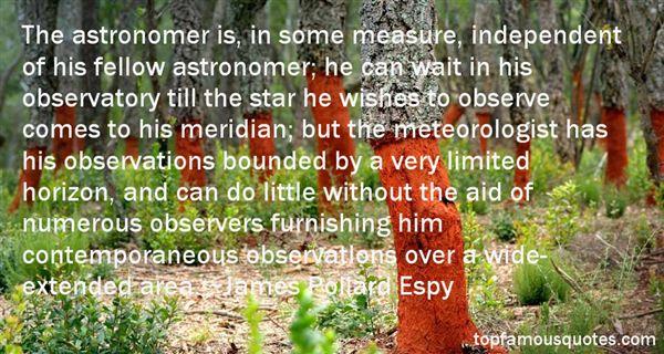 James Pollard Espy Quotes