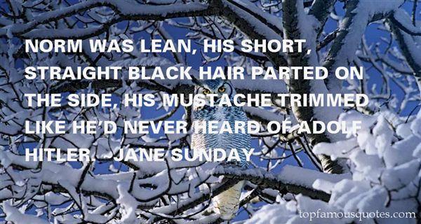Jane Sunday Quotes