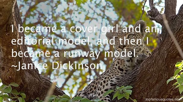 Janice Dickinson Quotes