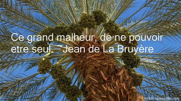 Jean De La Bruyère Quotes
