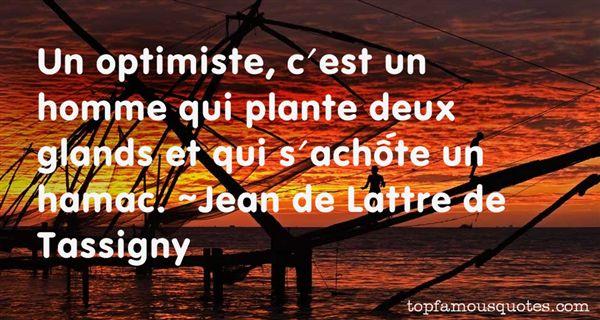 Jean De Lattre De Tassigny Quotes
