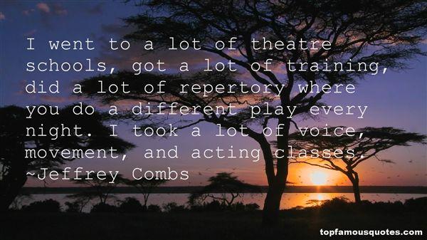 Jeffrey Combs Quotes