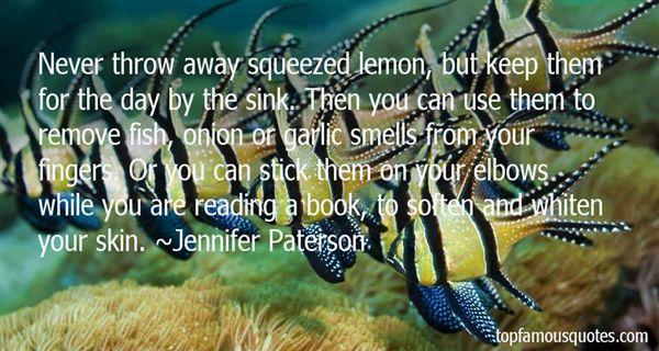 Jennifer Paterson Quotes