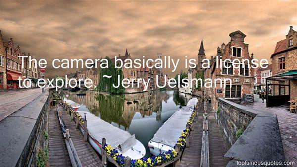 Jerry Uelsmann Quotes