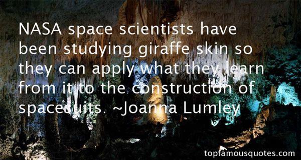 Joanna Lumley Quotes