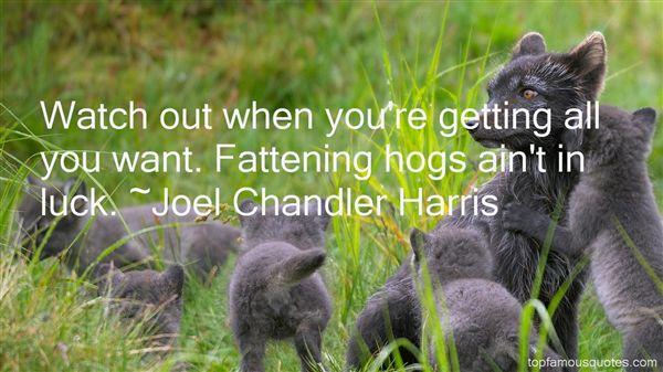 Joel Chandler Harris Quotes