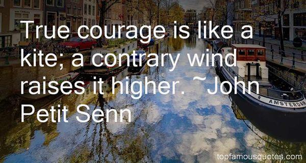 John Petit Senn Quotes
