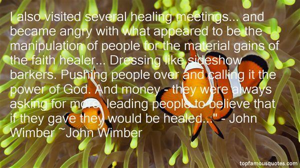 John Wimber Quotes
