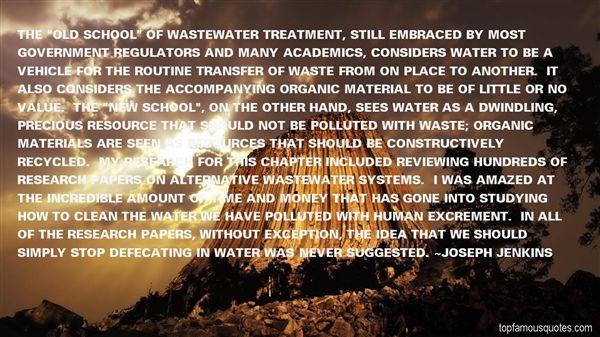 Joseph Jenkins Quotes