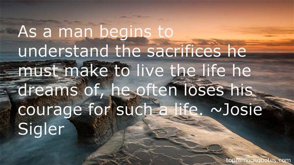 Josie Sigler Quotes