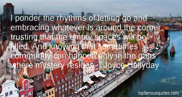 Joyce Hollyday Quotes