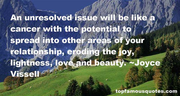 Joyce Vissell Quotes