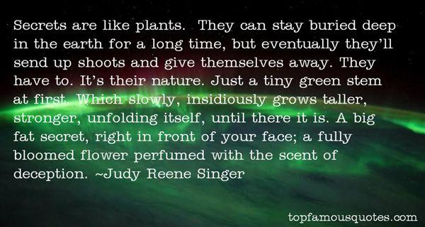 Judy Reene Singer Quotes