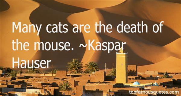 Kaspar Hauser Quotes