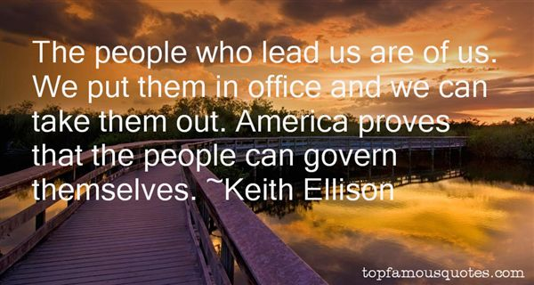 Keith Ellison Quotes