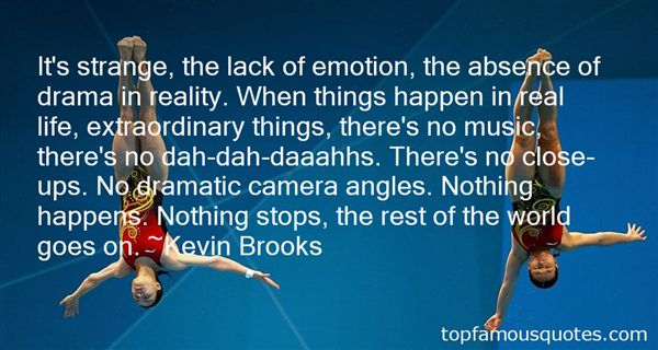 Kevin Brooks Quotes