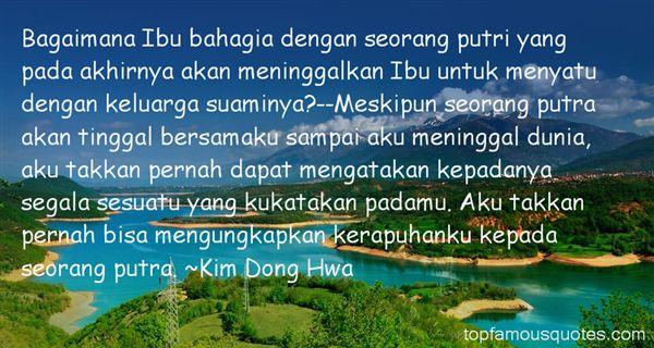 Kim Dong Hwa Quotes