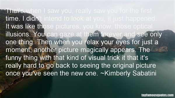 Kimberly Sabatini Quotes