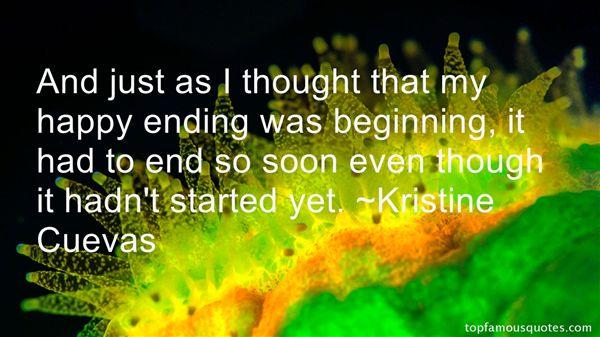 Kristine Cuevas Quotes