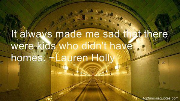 Lauren Holly Quotes