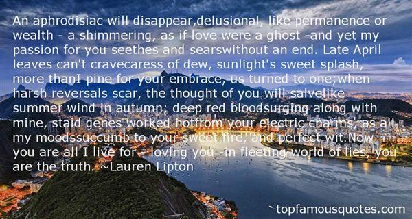 Lauren Lipton Quotes